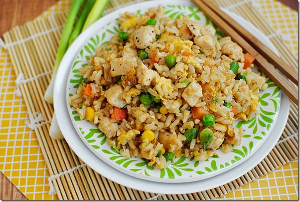 Chicken Fried Rice Sakana House Barrie On